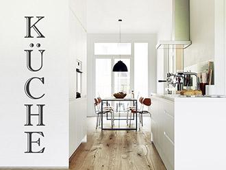 Wandtattoo Küche Vertikal