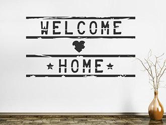 Wandtattoo Welcome Home Lightbox
