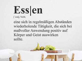 Wandtattoo Essen Definition