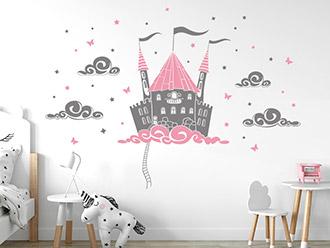 Mädchenzimmer Wandtattoos | Mädchen Motive mit Name | WANDTATTOO.DE