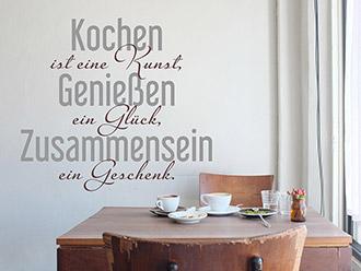 Wandtattoos für die Küche | Wandgestaltung | WANDTATTOO.DE