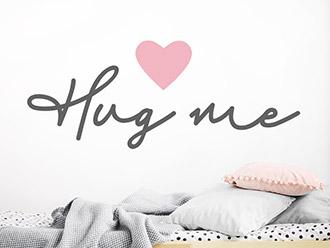 Wandtattoo Hug me