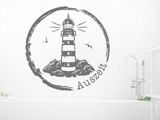 Wandtattoo Vintage Leuchtturm