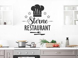Wandtattoo Sterne Restaurant