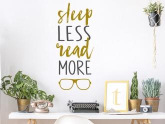 Wandtattoo Sleep less