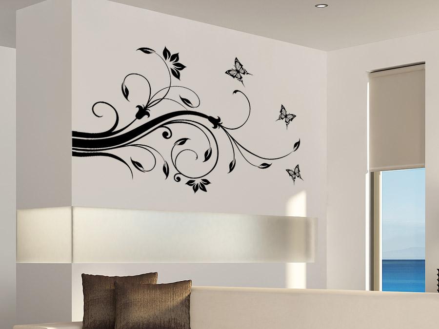 wandtattoo ornament lea von. Black Bedroom Furniture Sets. Home Design Ideas