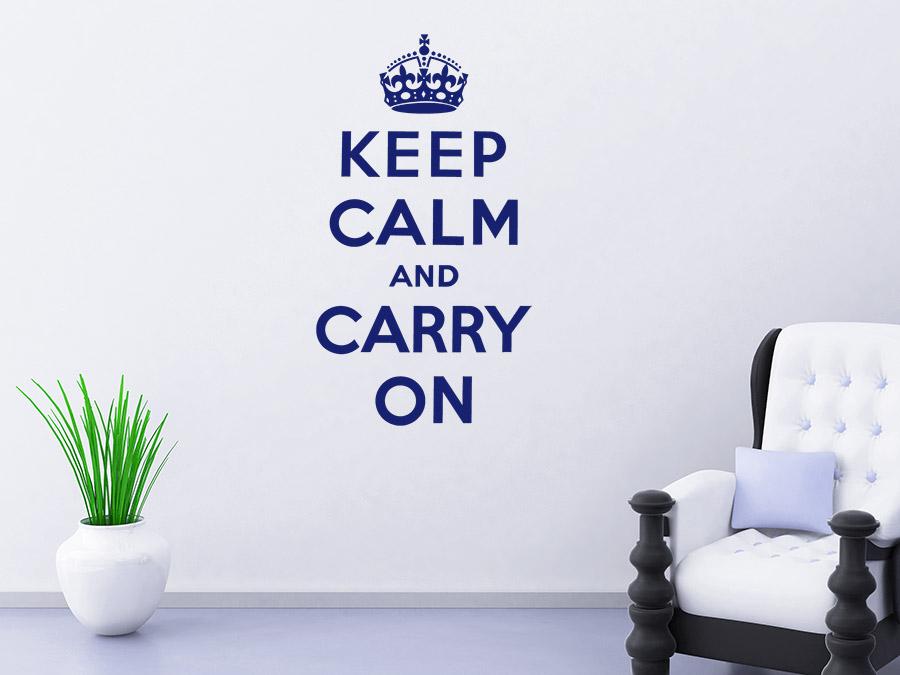 wandtattoo keep calm