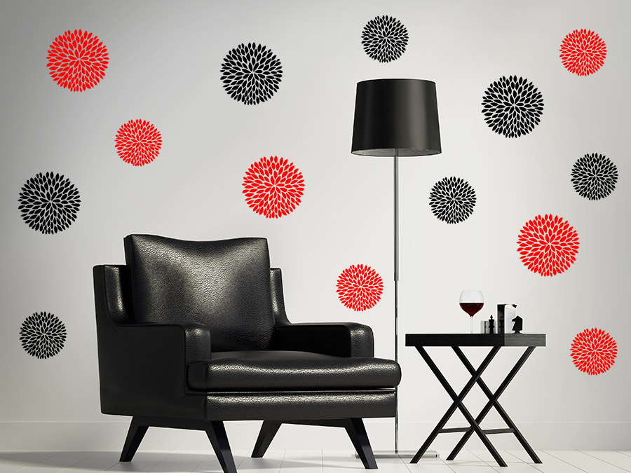 wandtattoo im rahmen bilderrahmen kreativ bekleben. Black Bedroom Furniture Sets. Home Design Ideas