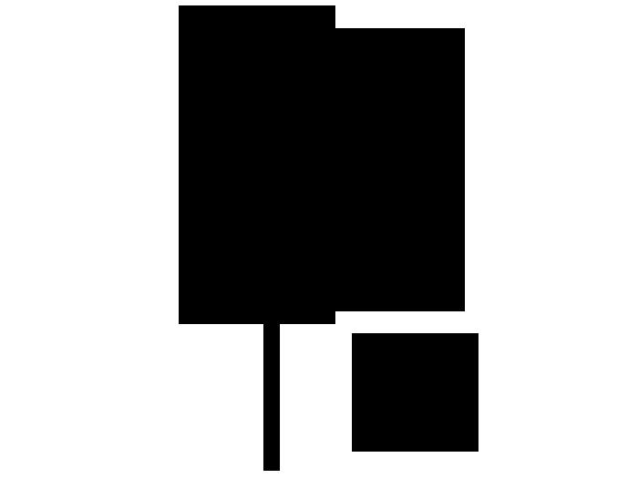 Ansicht Ahornbaum als Wandtattoo