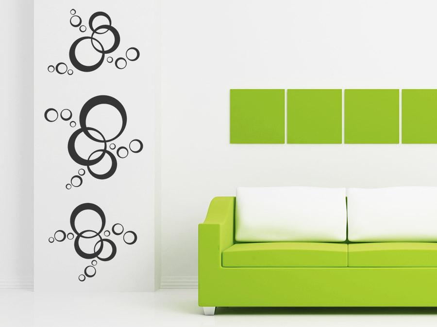 wandtattoo ornament stilvolle kreise von. Black Bedroom Furniture Sets. Home Design Ideas
