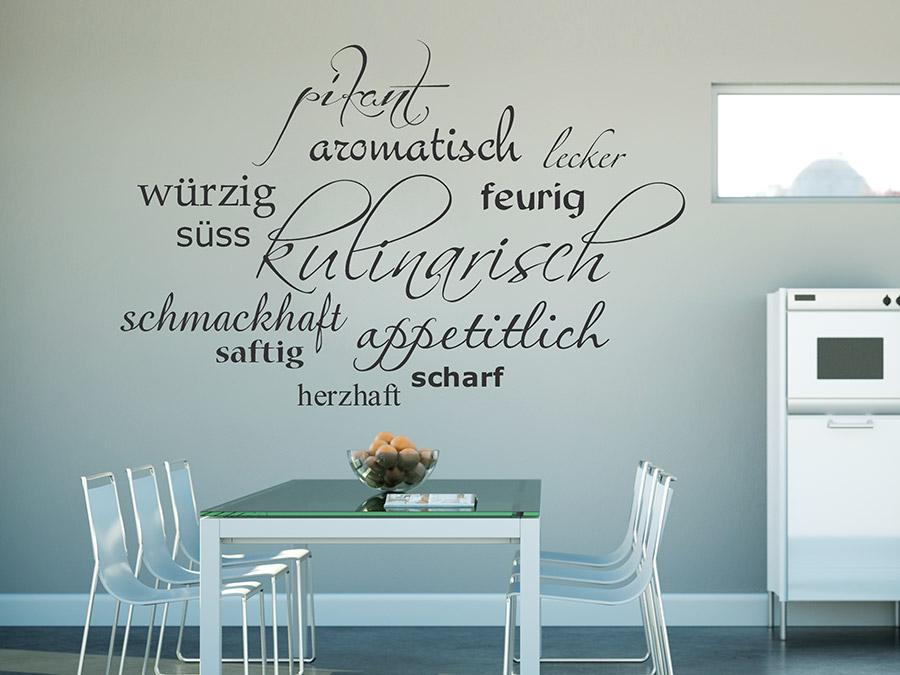 Guten Appetit - Wandtattoos für die Küche - Kreative Auswahl ...