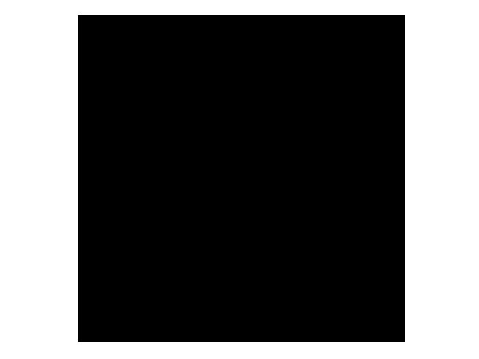 Ansicht Uhr Retro Cubes als Wandtattoo