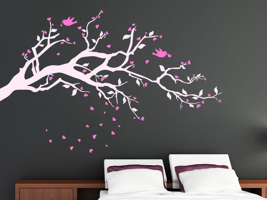 wandtattoo schlafzimmer grun ~ möbel inspiration und innenraum ideen - Wandtattoo Schlafzimmer