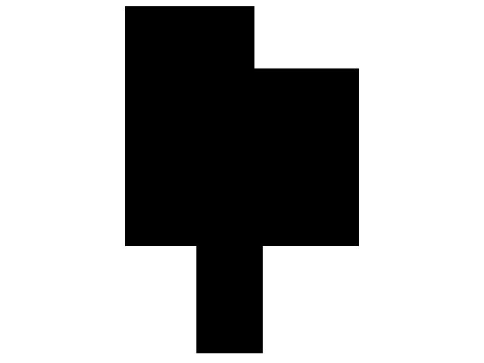 Ansicht Stilisierte Gräser als Wandtattoo