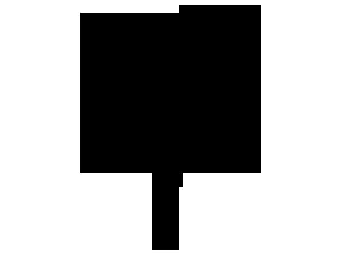 Ansicht Ornament Fliegende Kreise als Wandtattoo