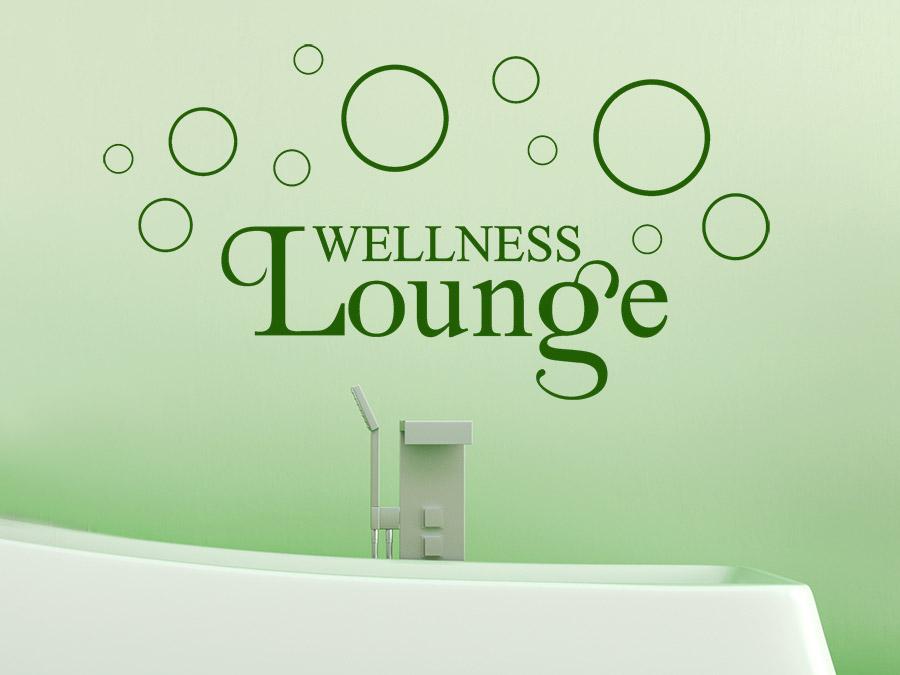 Wandtattoo wellness lounge von - Wandtattoo wellness ...