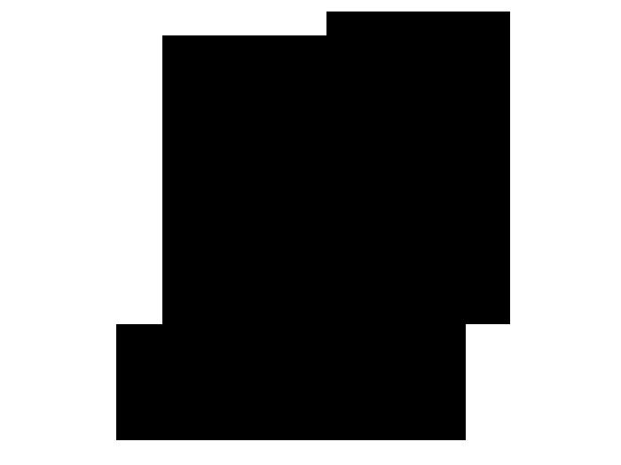 Ansicht Piratenschiff mit Name als Wandtattoo