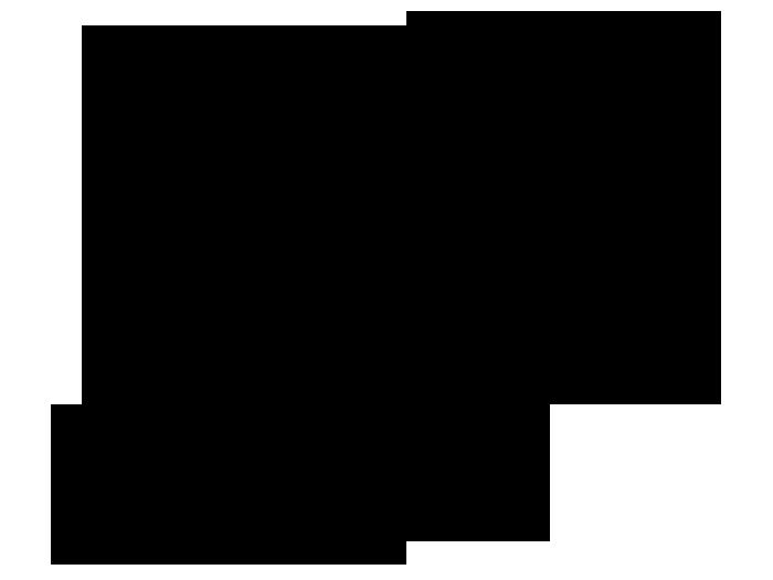 Ansicht Einhorn mit Sternen und Name als Wandtattoo
