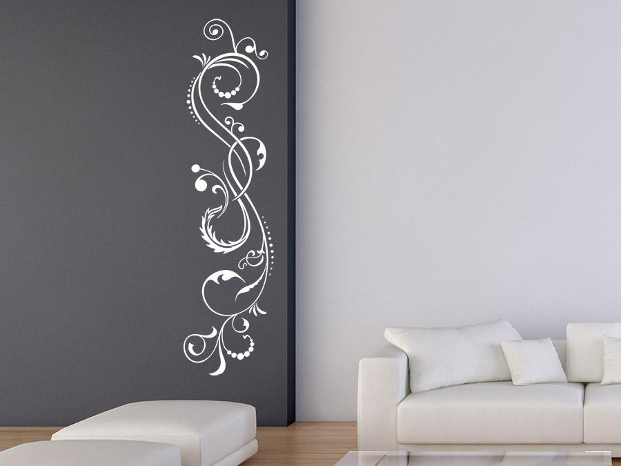wandtattoo romantisches ornament wandtattoo de. Black Bedroom Furniture Sets. Home Design Ideas