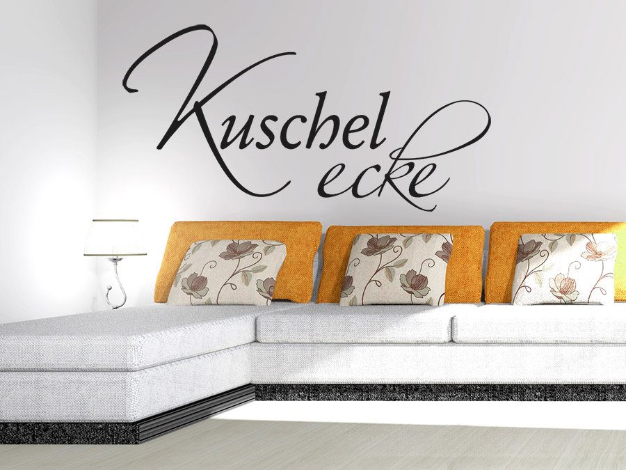 wandtattoo kuschelecke wandtattoo de. Black Bedroom Furniture Sets. Home Design Ideas