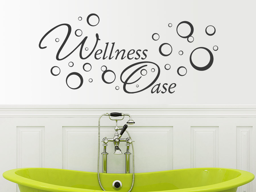 Wandtattoo Wellness Oase bei Homesticker.de