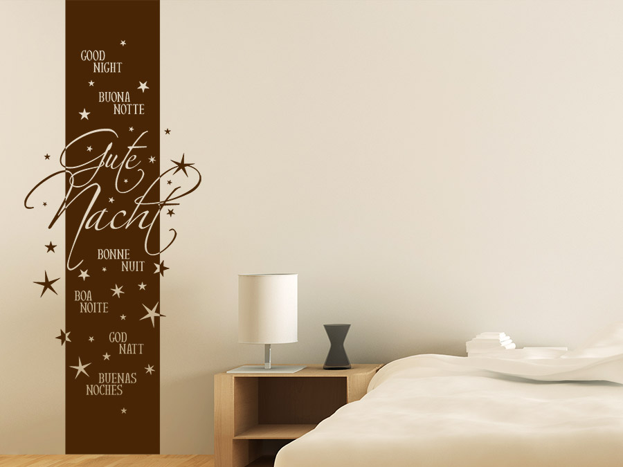 wandtattoo banner schlafzimmer reuniecollegenoetsele. Black Bedroom Furniture Sets. Home Design Ideas