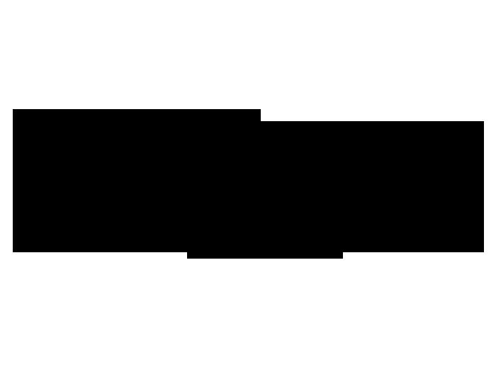 Ansicht Landschaft mit Kranichen als Wandtattoo