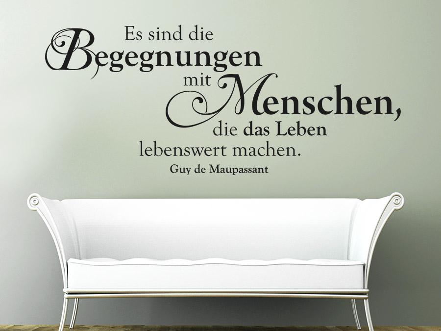 20 Wandtattoos Für Wohnzimmer Bilder. Wandtattoo Florales Design ...