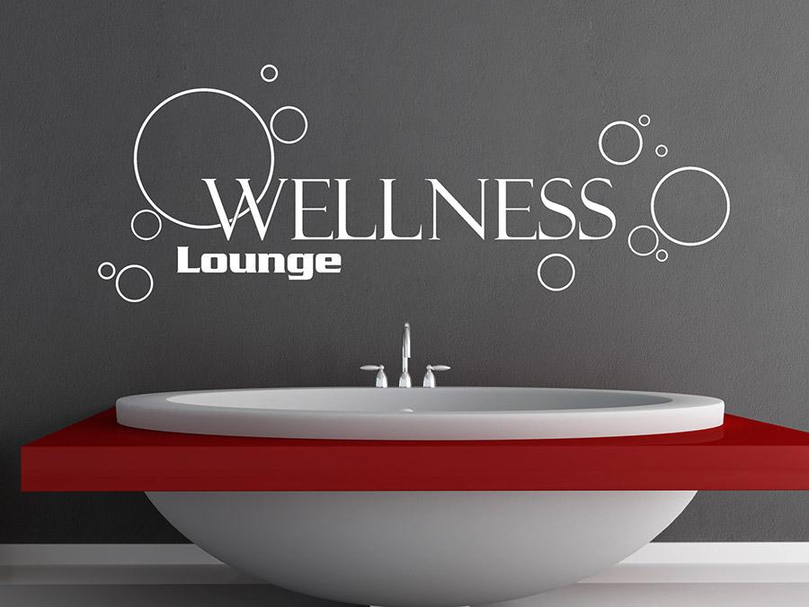 Wandtattoo wellness lounge mit seifenblasen wandtattoo de - Wandtattoo wellness ...