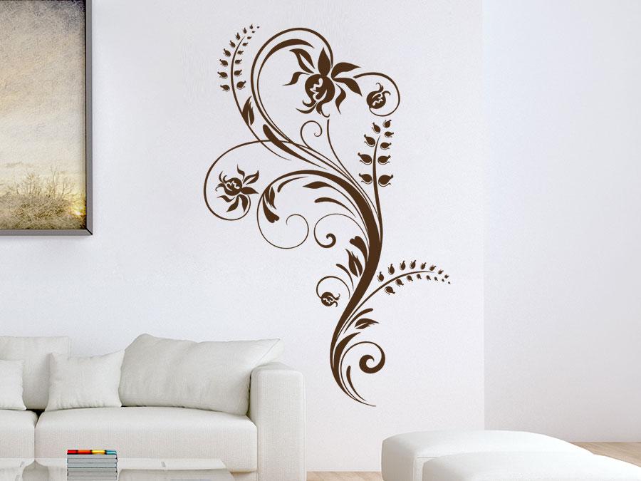 Wandtattoo Künstlerisches Ornament
