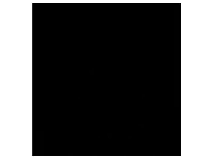 Ansicht Streifenhörnchen mit Wunschname als Wandtattoo