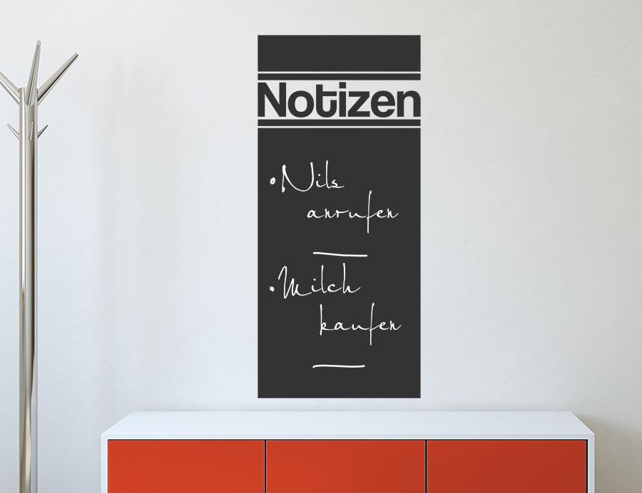 wandtattoo tafelfolie notizbrett bei. Black Bedroom Furniture Sets. Home Design Ideas