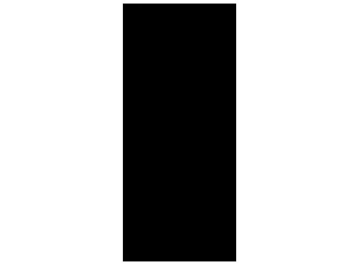 Ansicht Tafelfolie Litfaßsäule als Wandtattoo