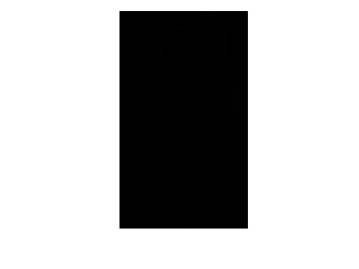 Ansicht Baum mit Vogelkäfig als Wandtattoo