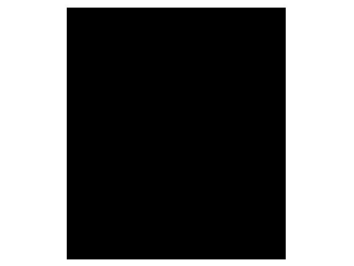 Ansicht Uhr Schriften als Wandtattoo