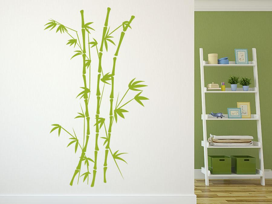 Wandtattoo Bambus Asiatische Wandgestaltung Wandtattoo De