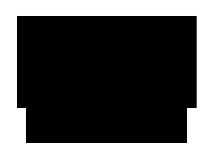 Ansicht Tafelfolie Oval mit Schnörkeln als Wandtattoo