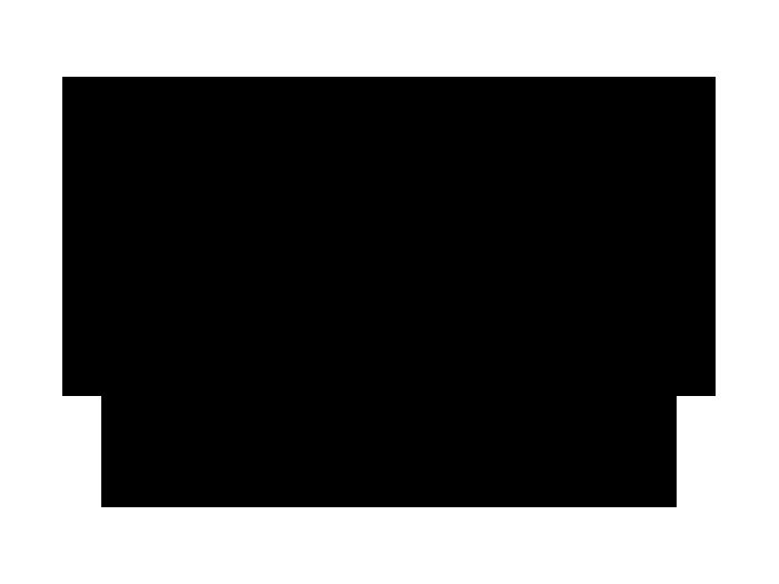 Ansicht Tafelfolie Oval mit Ornament als Wandtattoo