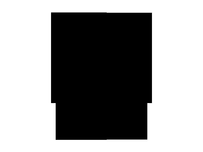 Ansicht Tafelfolie Oval mit Ranken als Wandtattoo