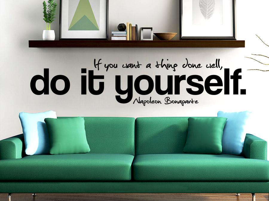 wandtattoo do it yourself wandtattoo de. Black Bedroom Furniture Sets. Home Design Ideas
