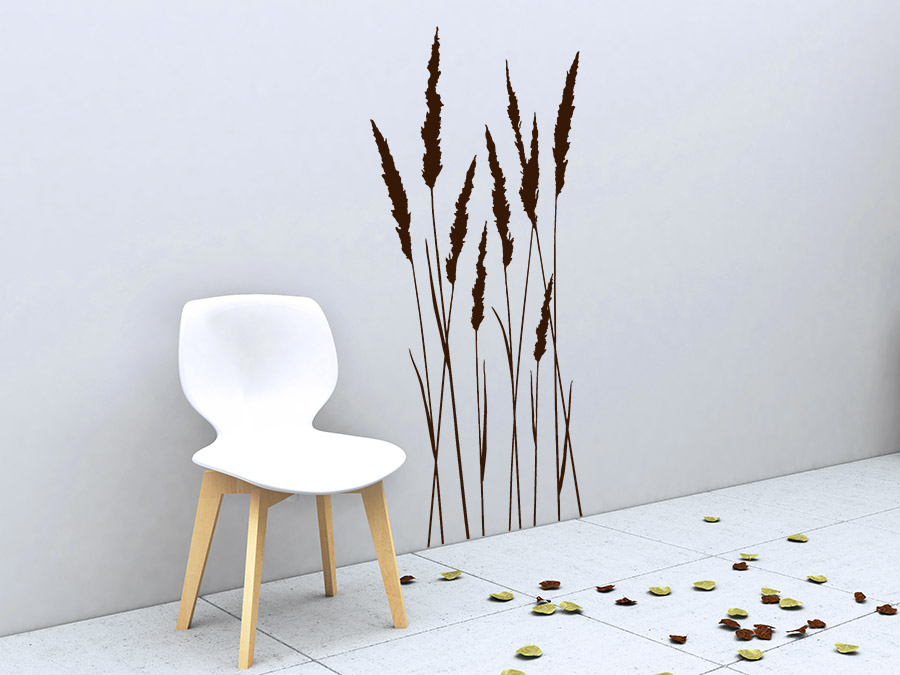 wandtattoo grashalme wandtattoo de. Black Bedroom Furniture Sets. Home Design Ideas