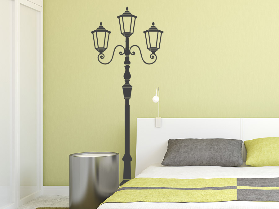 wandtattoo stra enlaterne bei. Black Bedroom Furniture Sets. Home Design Ideas