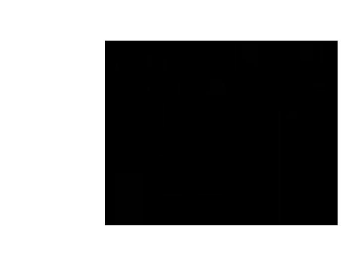 Ansicht Zweifarbiger Ast mit Vogelkäfig als Wandtattoo
