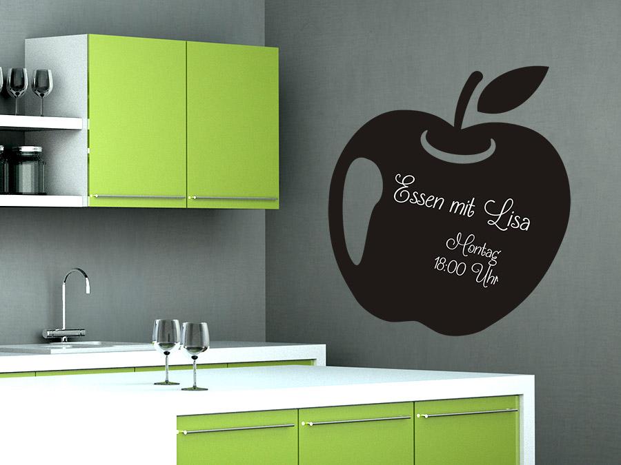 wandtattoo tafelfolie apfel bei. Black Bedroom Furniture Sets. Home Design Ideas