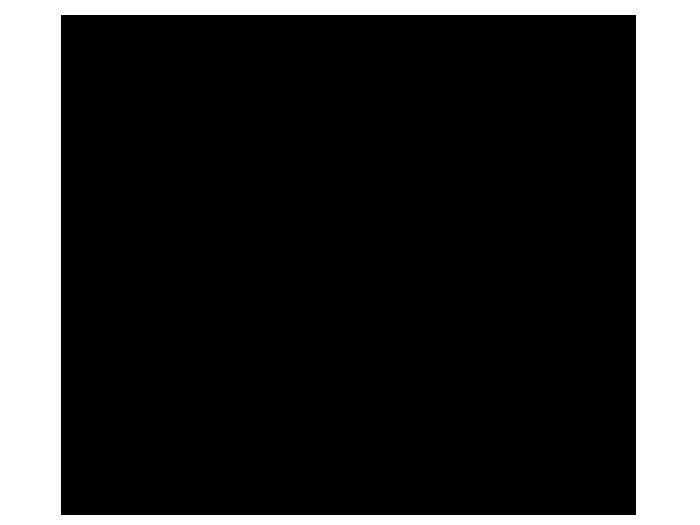Ansicht Tafelfolie Sprechblase als Wandtattoo