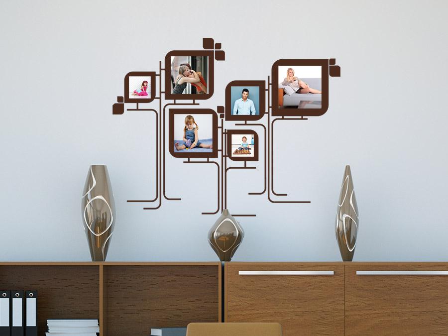 wandtattoo moderne fotorahmen von. Black Bedroom Furniture Sets. Home Design Ideas