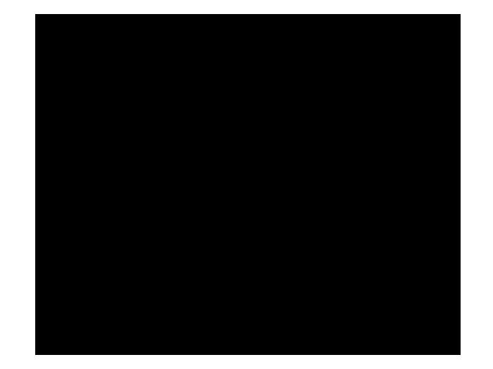Ansicht Maus im Mond mit Name als Wandtattoo
