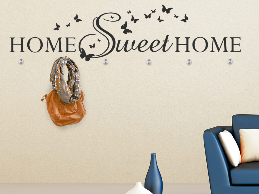 Garderobe Home Sweet Home