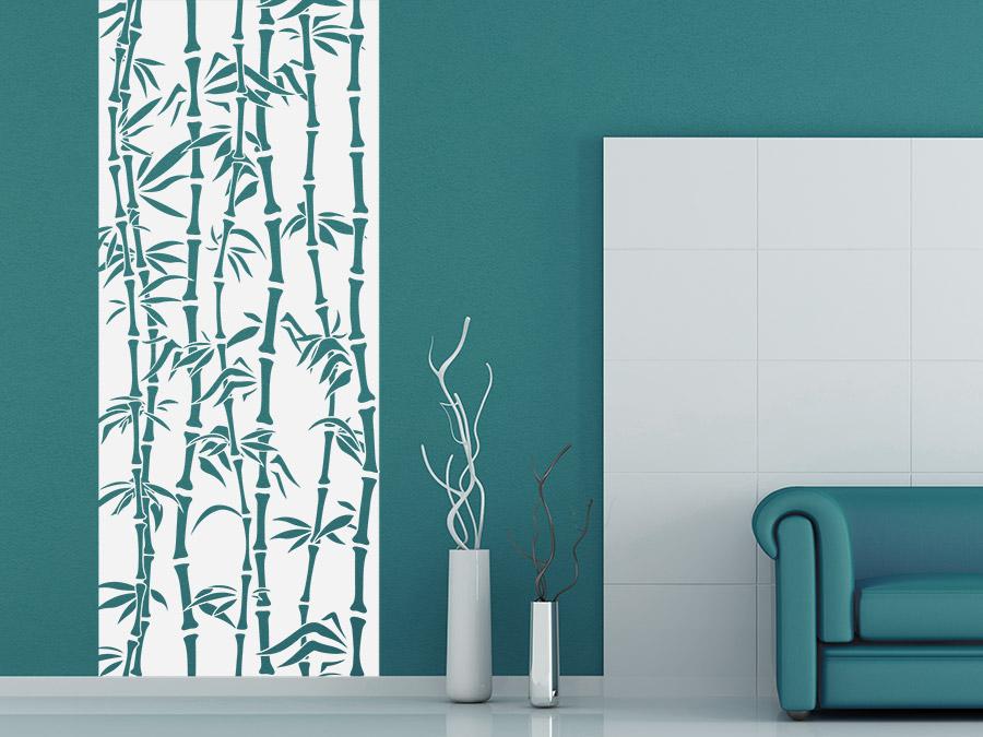Wandtattoo Banner Bambus von Wandtattoo.de