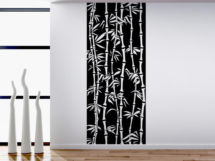 Wandtattoo banner bambusstrauch bei for Wandtattoo banner